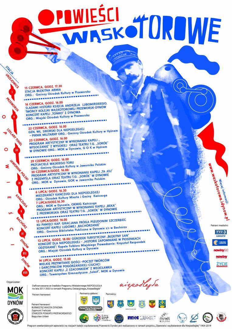plakat Opowieści wąskotorowe